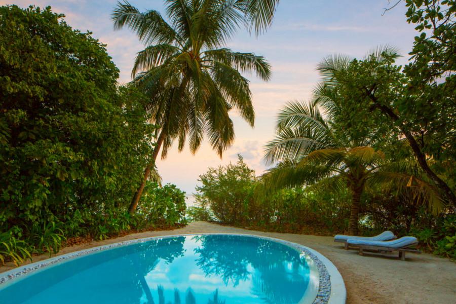 4 Bedroom Soneva Fushi Villa Suite with Pool
