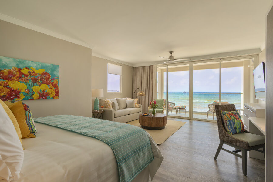 Luxury Oceanfront Junior Suite
