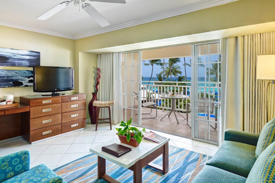 Ocean View One Bedroom Suite Turtle Beach