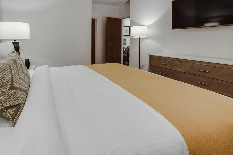 Pool View One Bedroom Spa Suite waves
