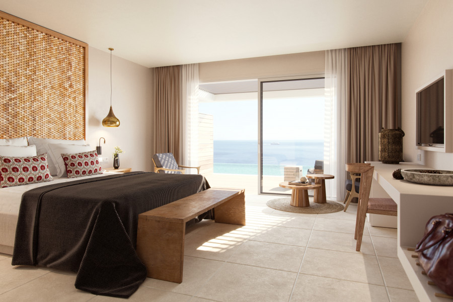 Double Superior Room Swim-Up Seaview