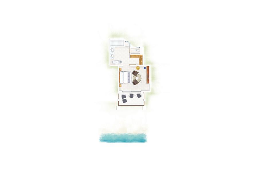 Ocean Room / Ocean Beachfront Room