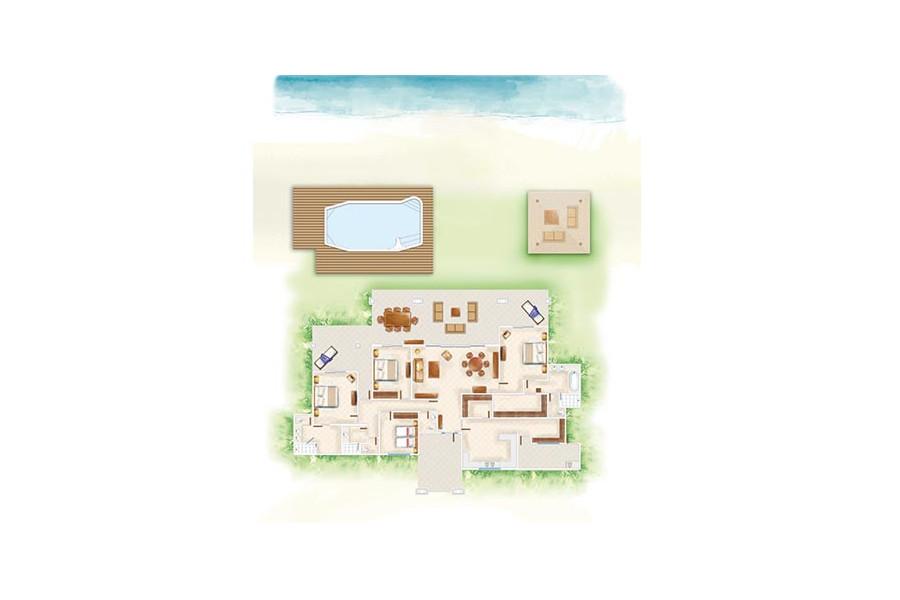 The Dinarobin Villas