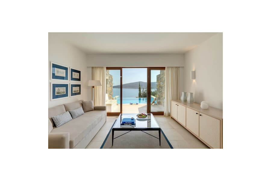Mediterranean Maisonette Suite Sea View with Private Pool