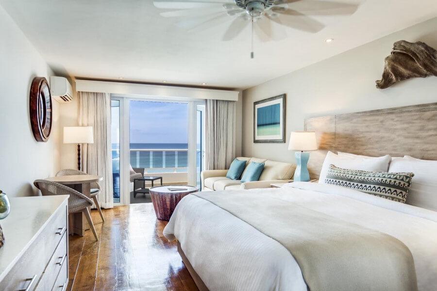 Oceanfront Junior Suite waves