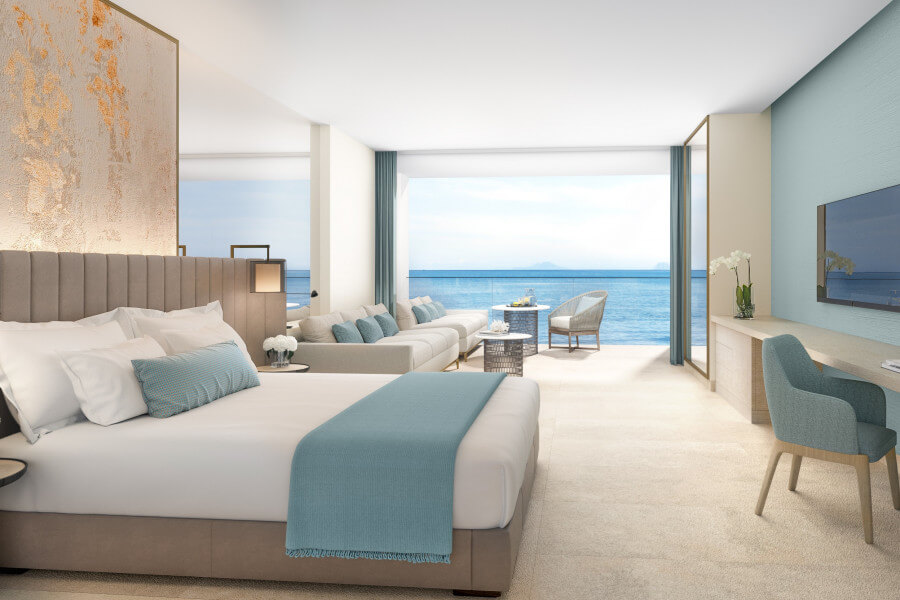 Junior Suite Garden View or Sea View