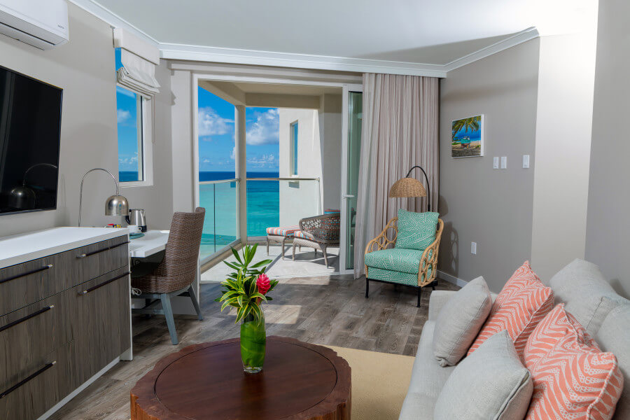 Luxury Two Bedroom Ocean View Suite