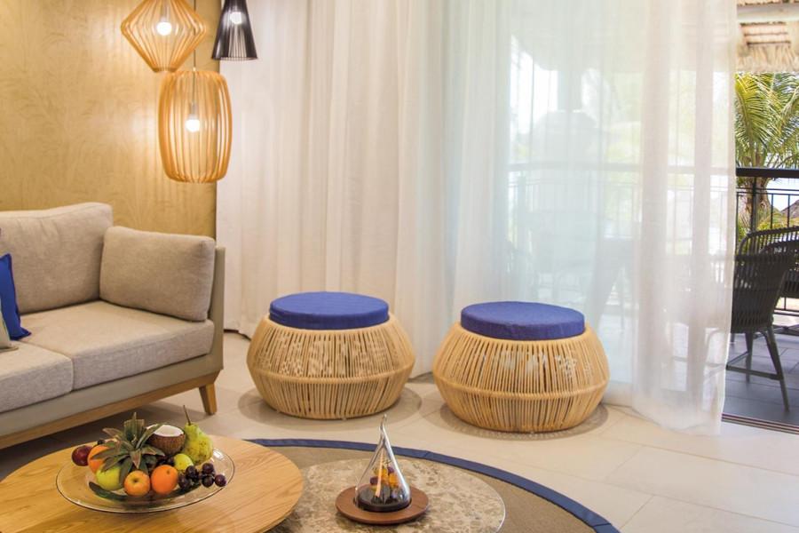 2 Bedroom Ocean Beachfront Family Suite