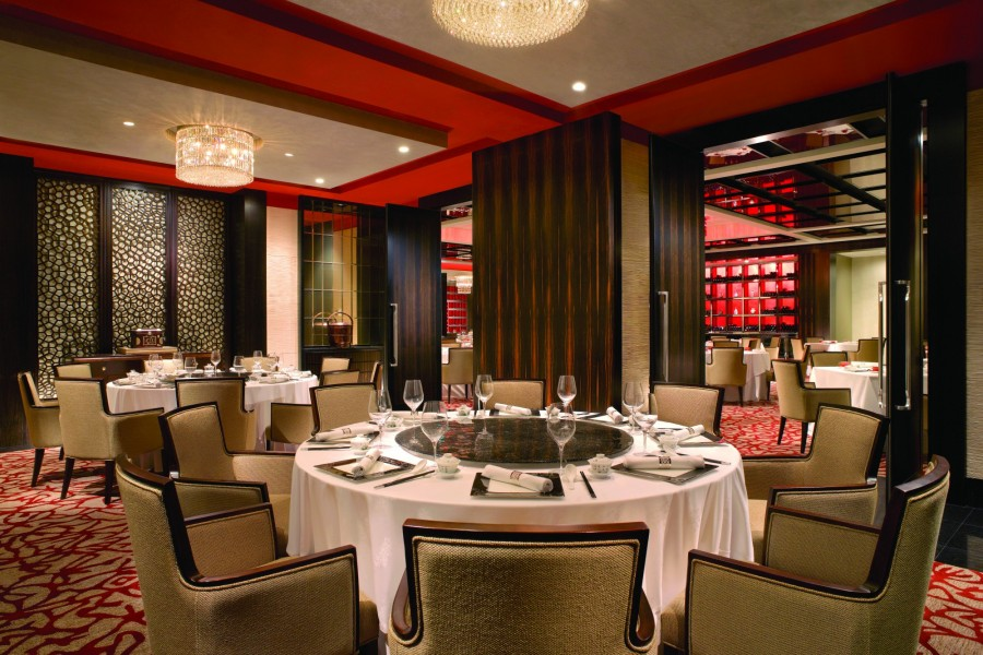 Shangri la hotel singapore singapore far east for Best private dining rooms cheshire