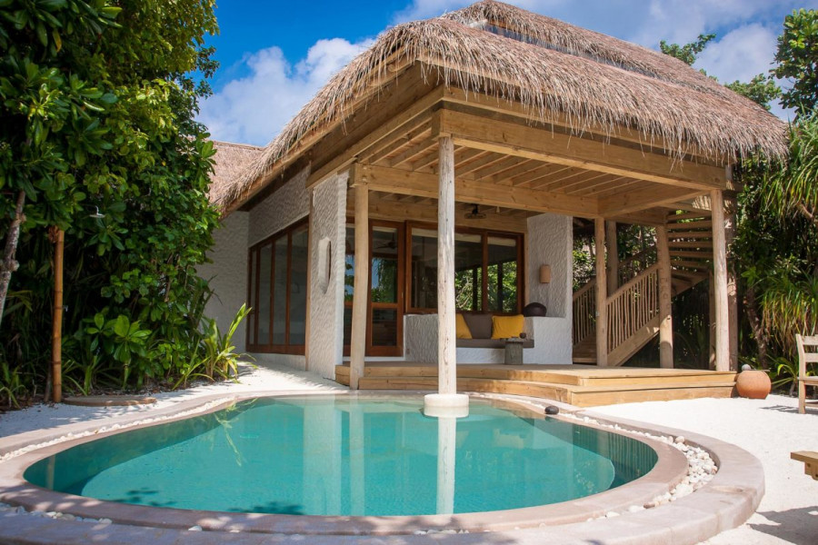 Soneva Fushi Family Villa Suite with Pool