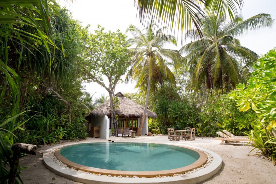 Sunrise Villa 2 Bedroom Soneva Fushi Villa with Pool