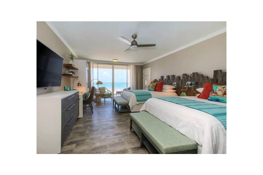 Luxury Two Bedroom Oceanfront Suites