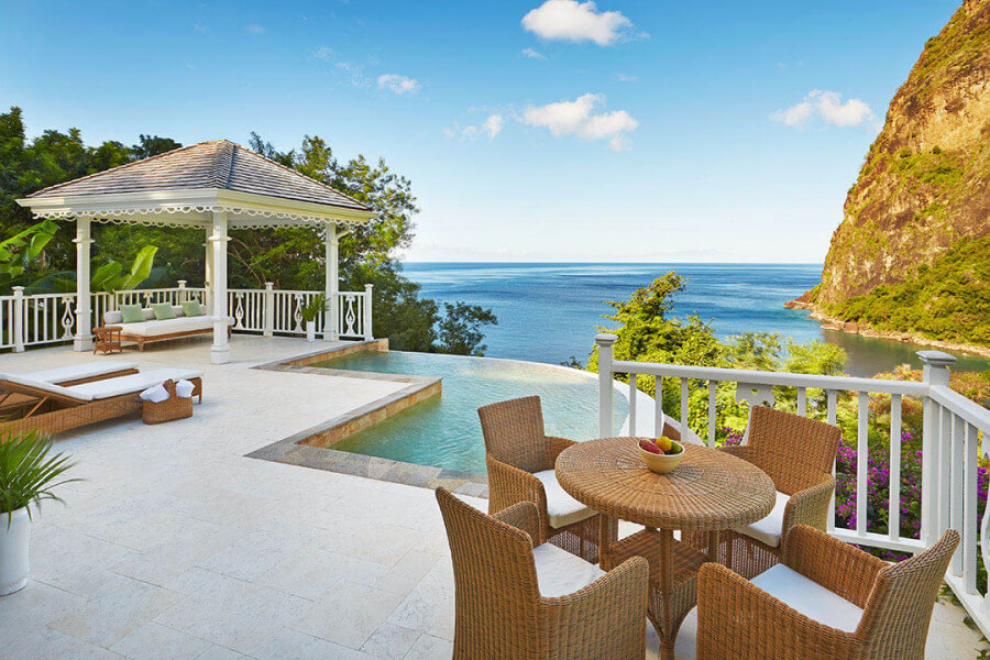 Ocean View Grand Luxury Villa Sugar Beach st lucia
