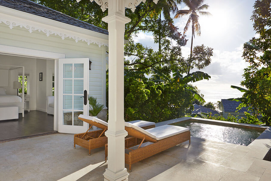 Luxury Cottage Sugar Beach st lucia