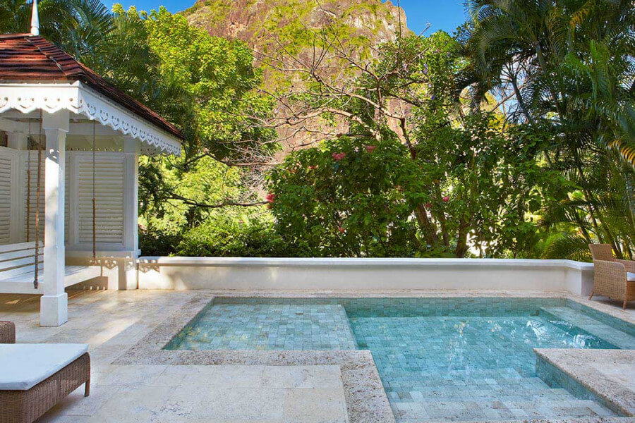Luxury Villa Sugar Beach st lucia