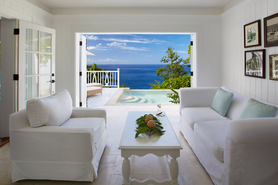 Superior Luxury Villa Sugar Beach st lucia