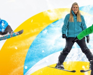 Skiing or Snowboarding Lesson from £114 per person